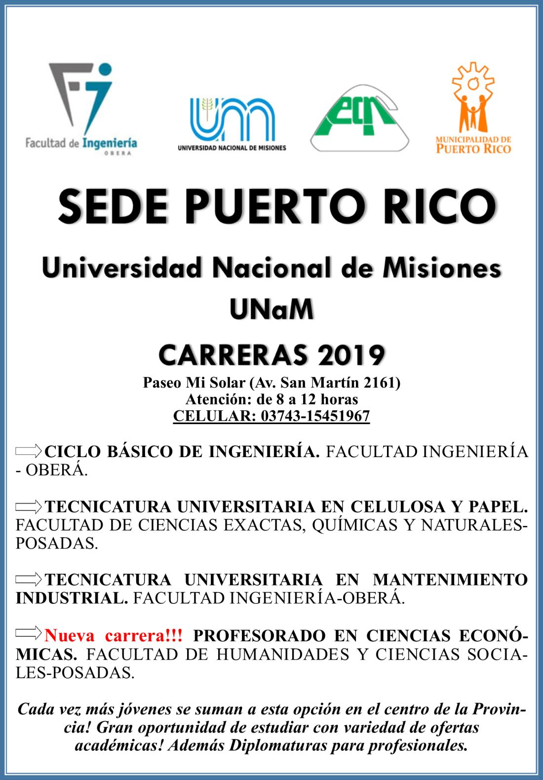 UNAM 2019